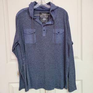 Broken threads hooded tshirt